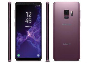 Samsung Galaxy S9 Leaked Render by Evleaks