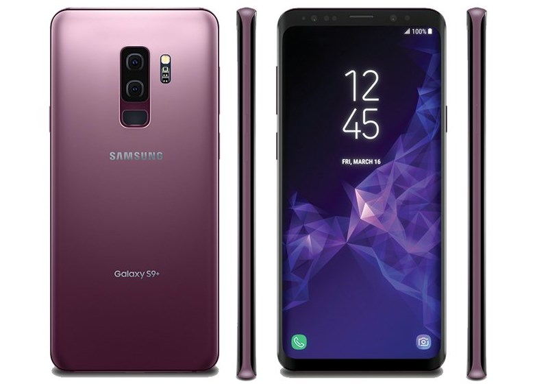 Samsung Galaxy S9+ Leaked Render by Evleaks