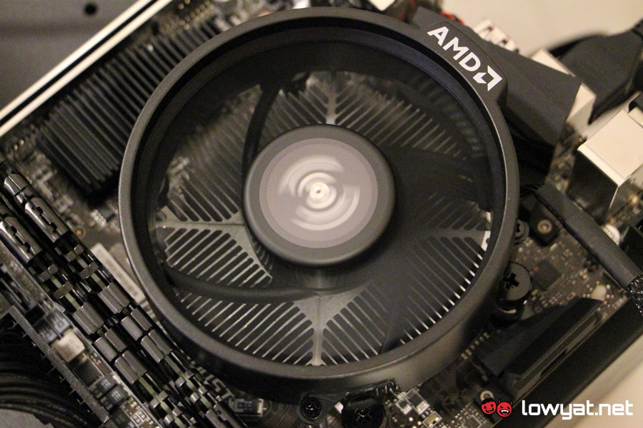 AMD Ryzen 5 2400G with AMD Wraith Stealth Cooler