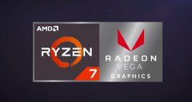 AMD Ryzen 7 with Radeon Vega Graphics for Notebook