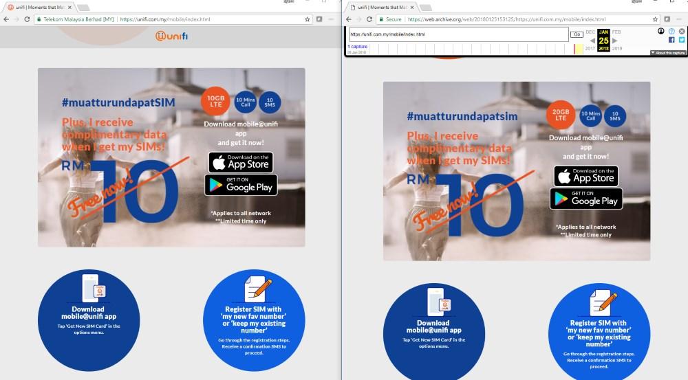 UniFi Mobile 10GB vs 20GB