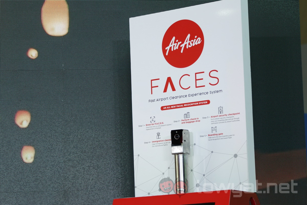 AirAsia Officially Launches Facial Recognition Self-Boarding Gate At