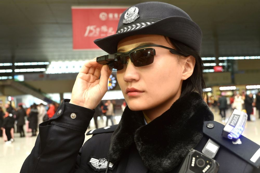 Chinese police get face-recognition sunglasses in crackdown on crime, dissent