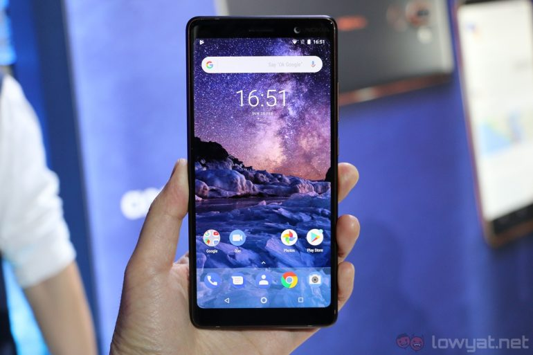 Some Nokia 7.1 Units in Norway Caught Sending Data to China