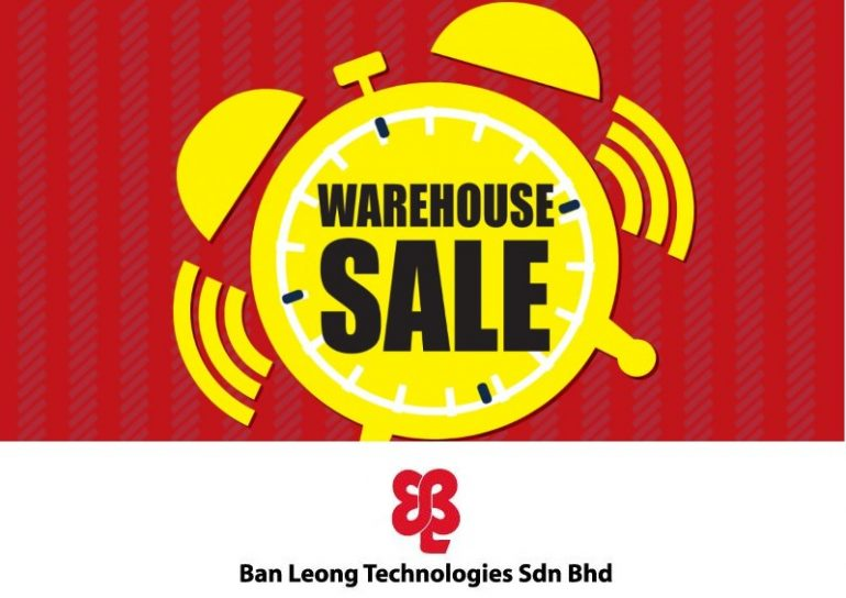 Ban Leong Warehouse Sale March 2018