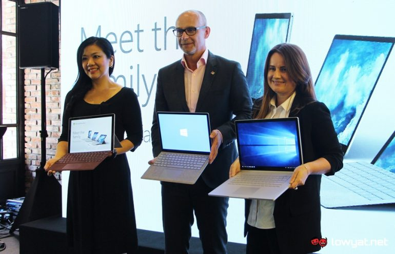 Surface Book 2, Surface Laptop Malaysian Launch
