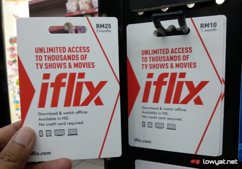 iflix Reload Card