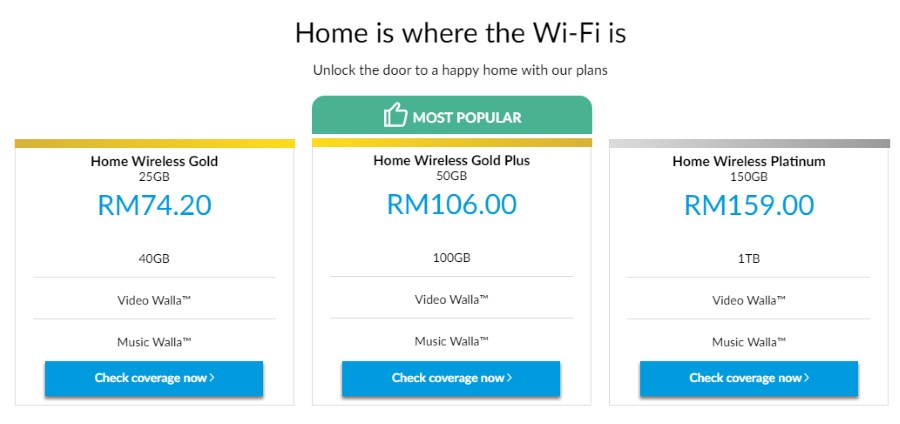 Celcom Home Wireless Broadband