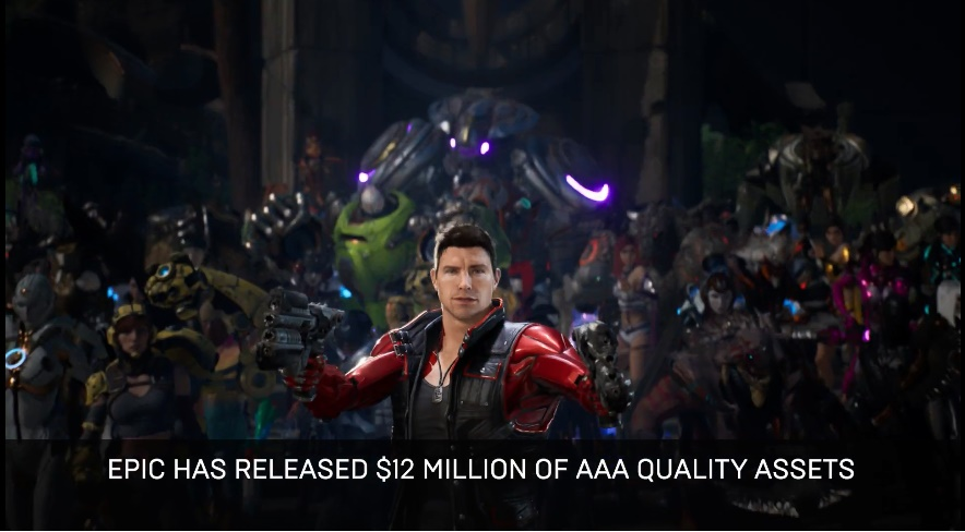 Epic Games Releases Paragon Assets For Free To Unreal Engine