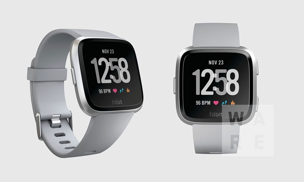 This is our first look at Fitbit's next smartwatch