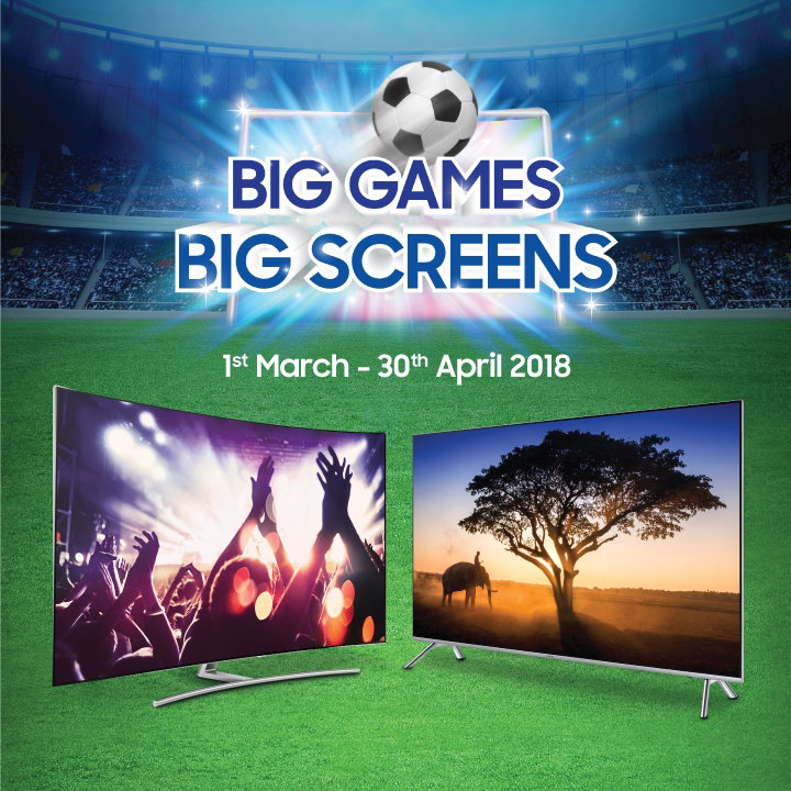 samsung big games big screen promotion buy a uhd tv get an ogawa massage chair lowyat net. Black Bedroom Furniture Sets. Home Design Ideas