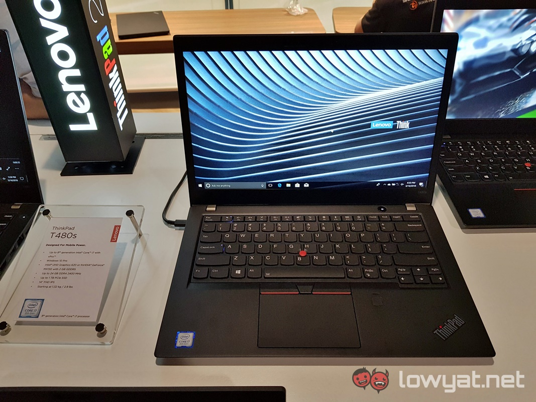 The 2018 Lenovo ThinkPad Laptops Are Now Officially Available in