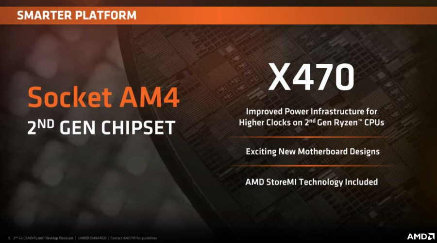 MSI Has Five AMD X470 Motherboards