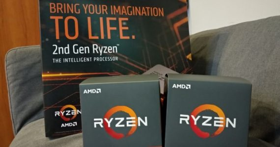2nd Gen AMD Ryzen Desktop Processor