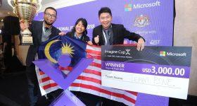 Team PINE of Malaysia - Champion, Microsoft Imagine Cup APAC Finals 2018