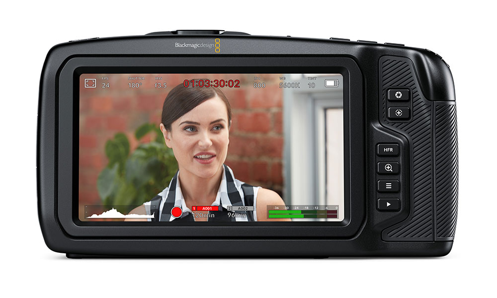 Blackmagic Pocket Cinema Camera 4K launched with 5-inch display for $1295