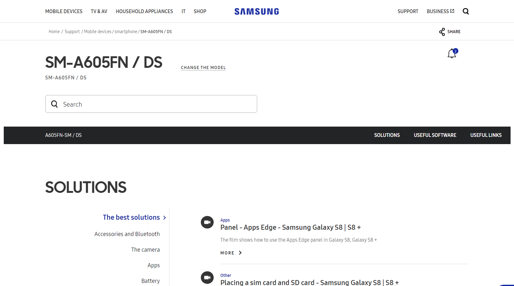 Samsung Galaxy A6 Plus Leaks On Samsung Website | Lowyat NET
