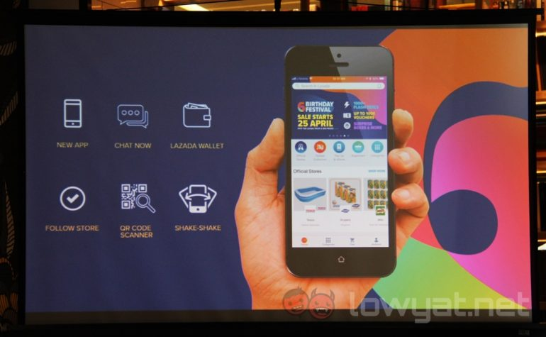 c98240f82 Lazada Introduces New App Features In Conjunction With 6th Birthday Festival