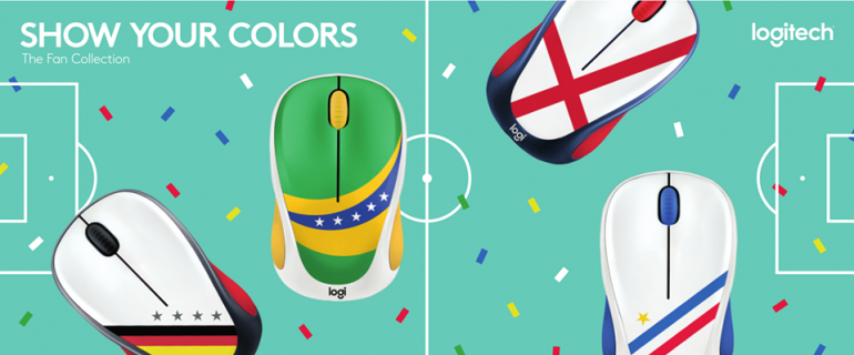 dd06eb40d1a Logitech Releases World Cup Themed M238 Fan Collection Wireless Mouse