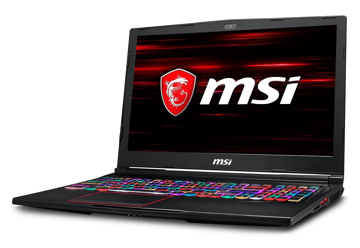 MSI struts its collection of gaming laptops with eighth-gen Intel CPUs