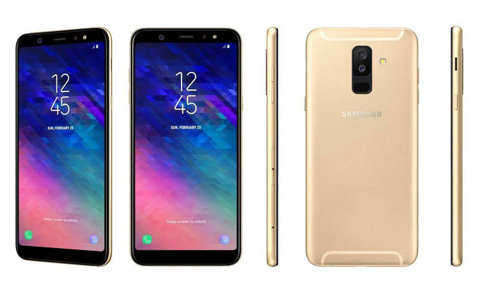Samsung Galaxy A6+ In Gold
