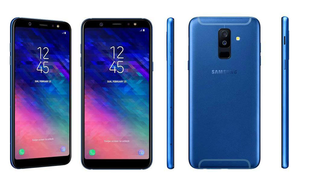 Samsung Galaxy A6, A6+ 2018 models pictured early