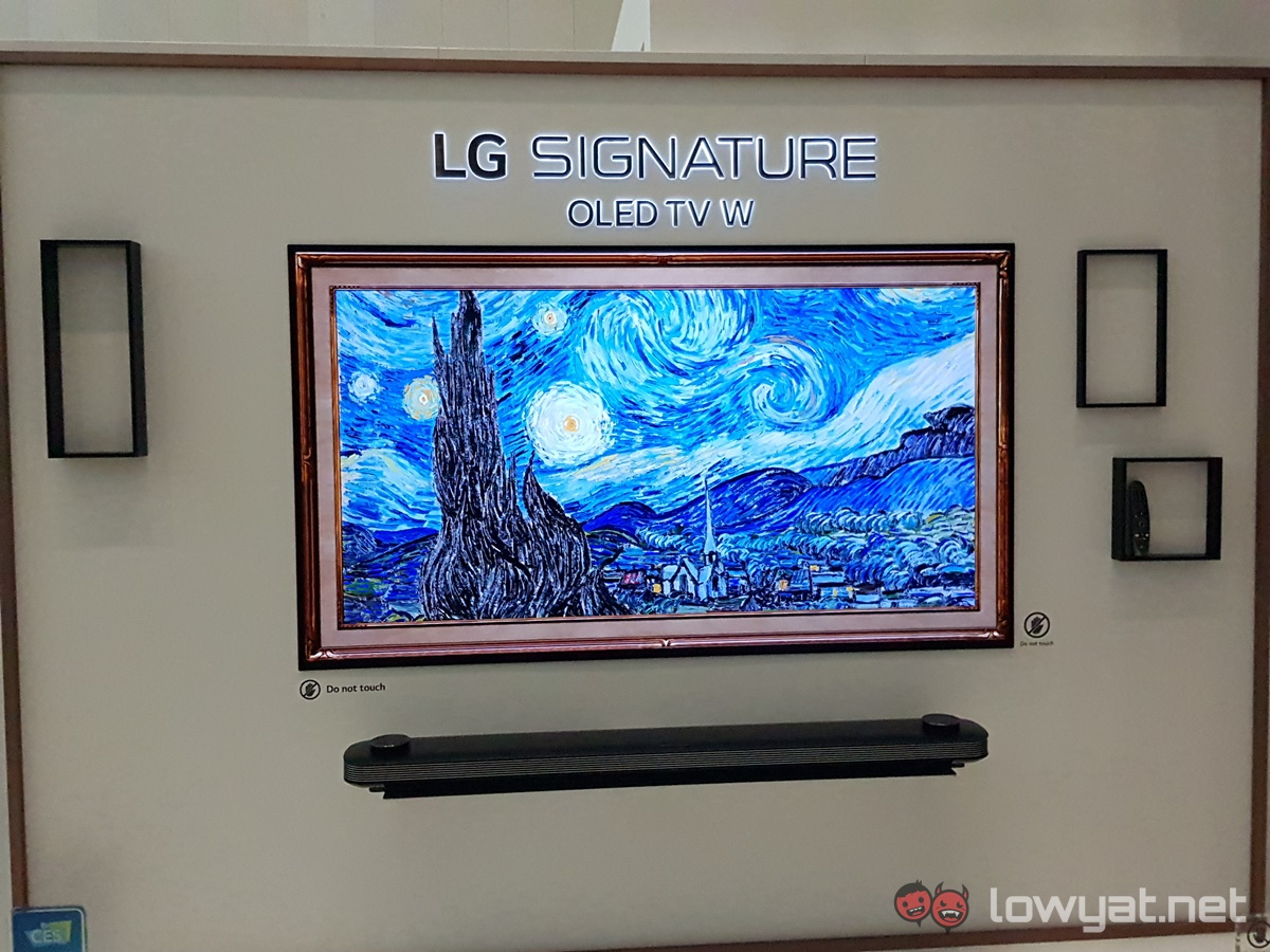 lg oled tv w series will be coming to malaysia lowyat net. Black Bedroom Furniture Sets. Home Design Ideas