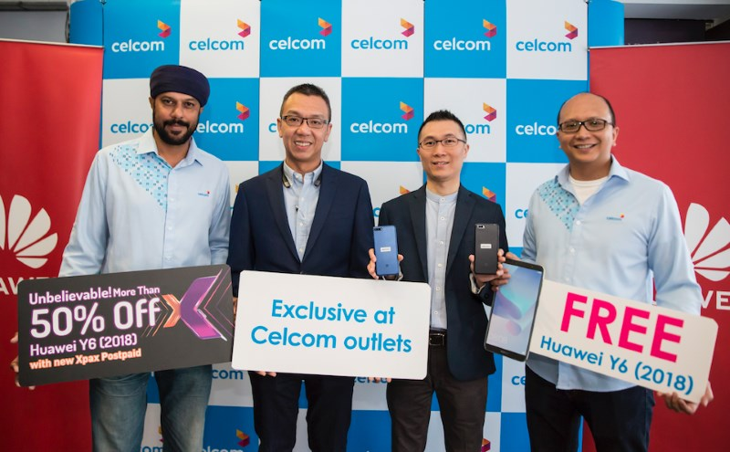 Celcom x Huawei Y6 2018