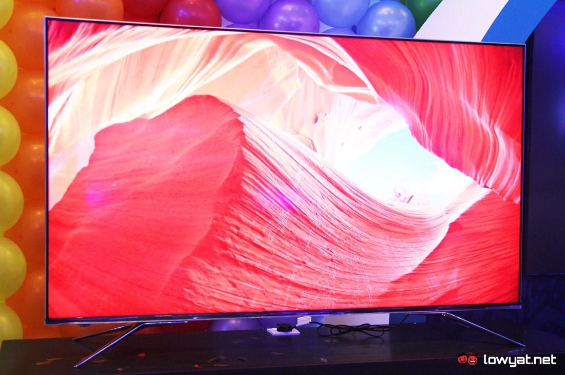 Hisense U7A ULED TV.