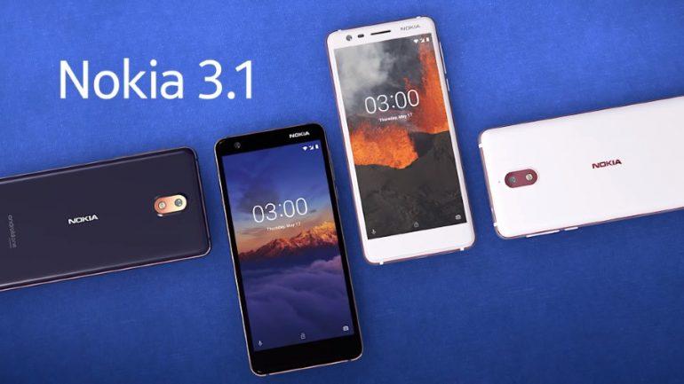 2018 Nokia 3 / Nokia 3.1
