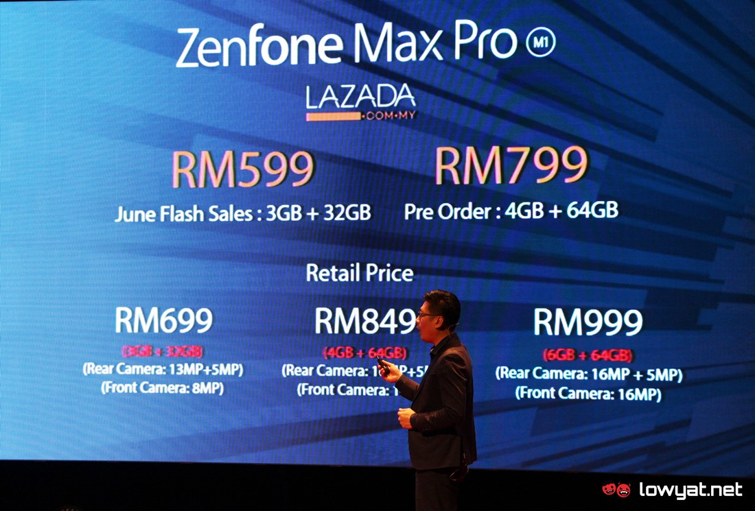 ASUS ZenFone Max Pro M1 Goes Official In Malaysia: Available For As