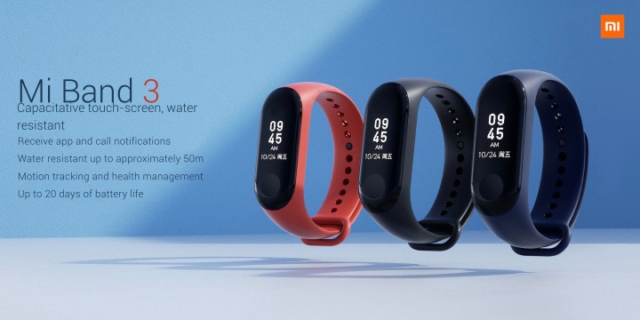 Xiaomi Mi Band 3 de pe Aliexpress