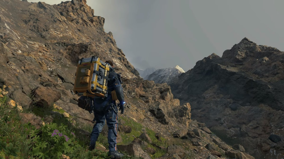 Death Stranding is still weird but at least there's gameplay now