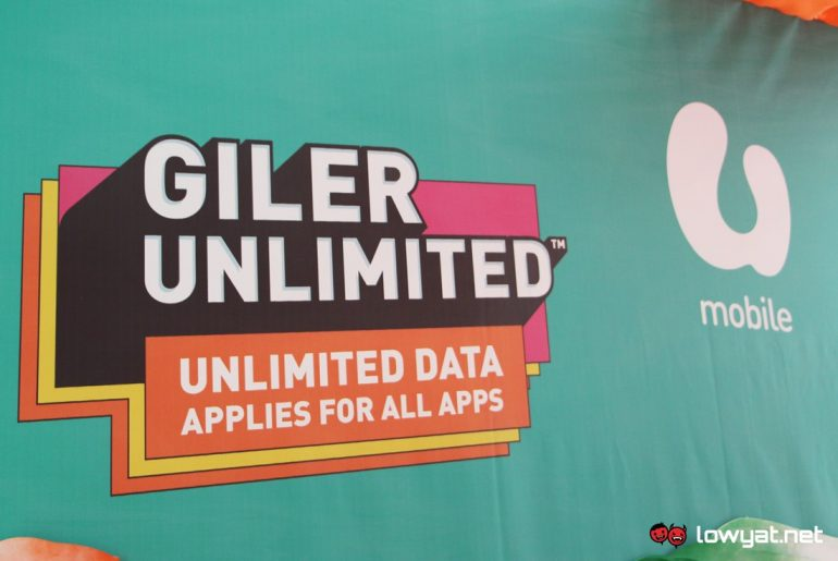 u mobile unveils giler unlimited plans full access to data from rm