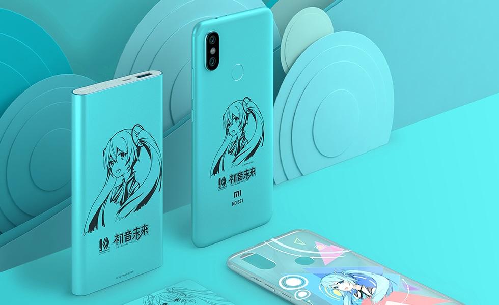 Image result for Xiaomi Mi 6X Hatsune Miku Edition
