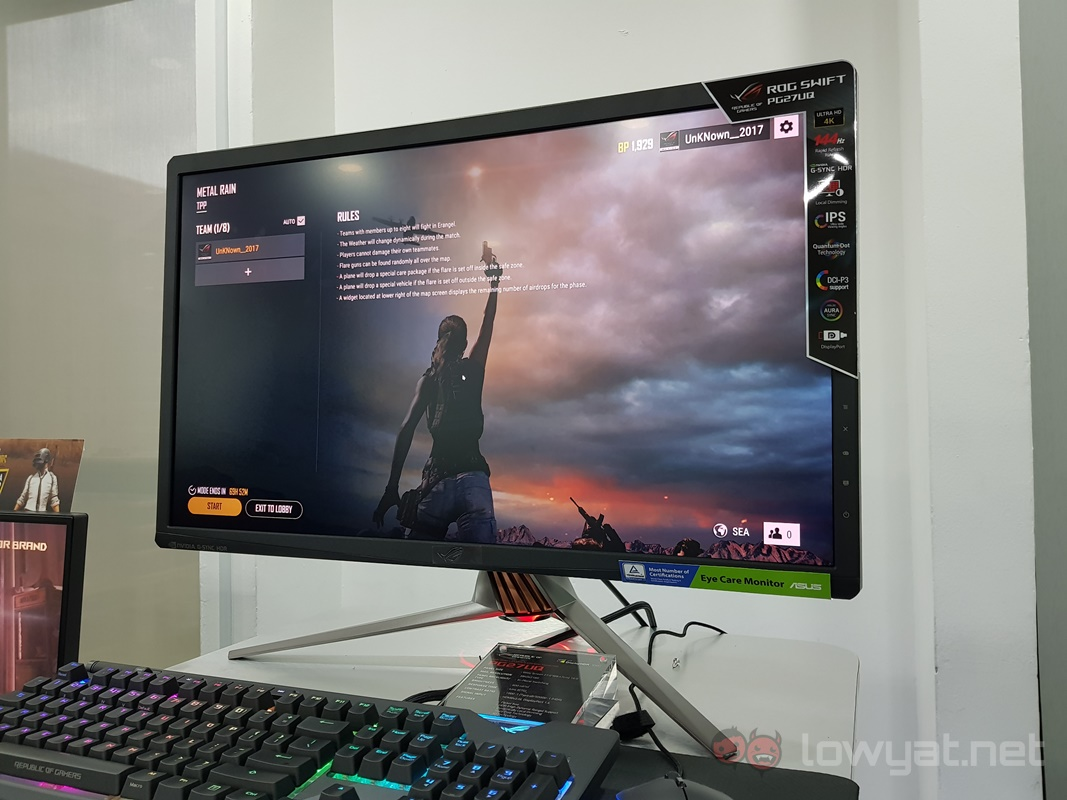 The ASUS ROG Swift PG27UQ Gaming Monitor Could Retail For ...