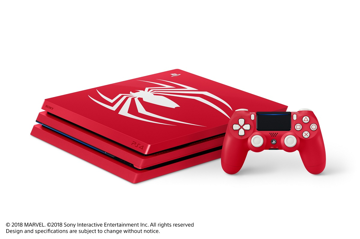 The Limited Edition Spider-Man PS4 Pro Is A Thing Of Beauty