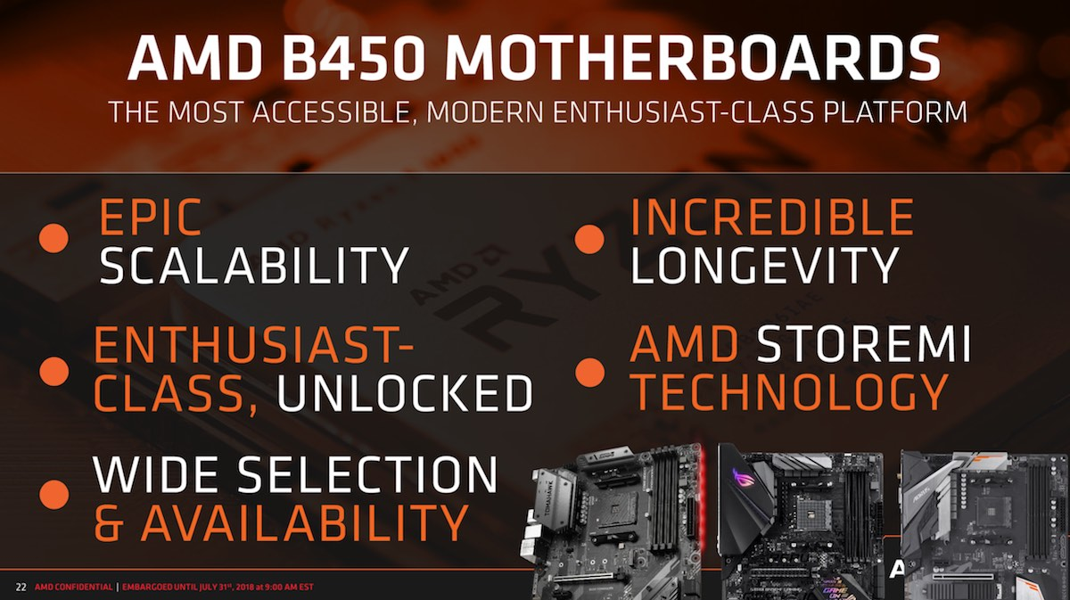 AMD Officially Launches The B450 Chipset | Lowyat NET