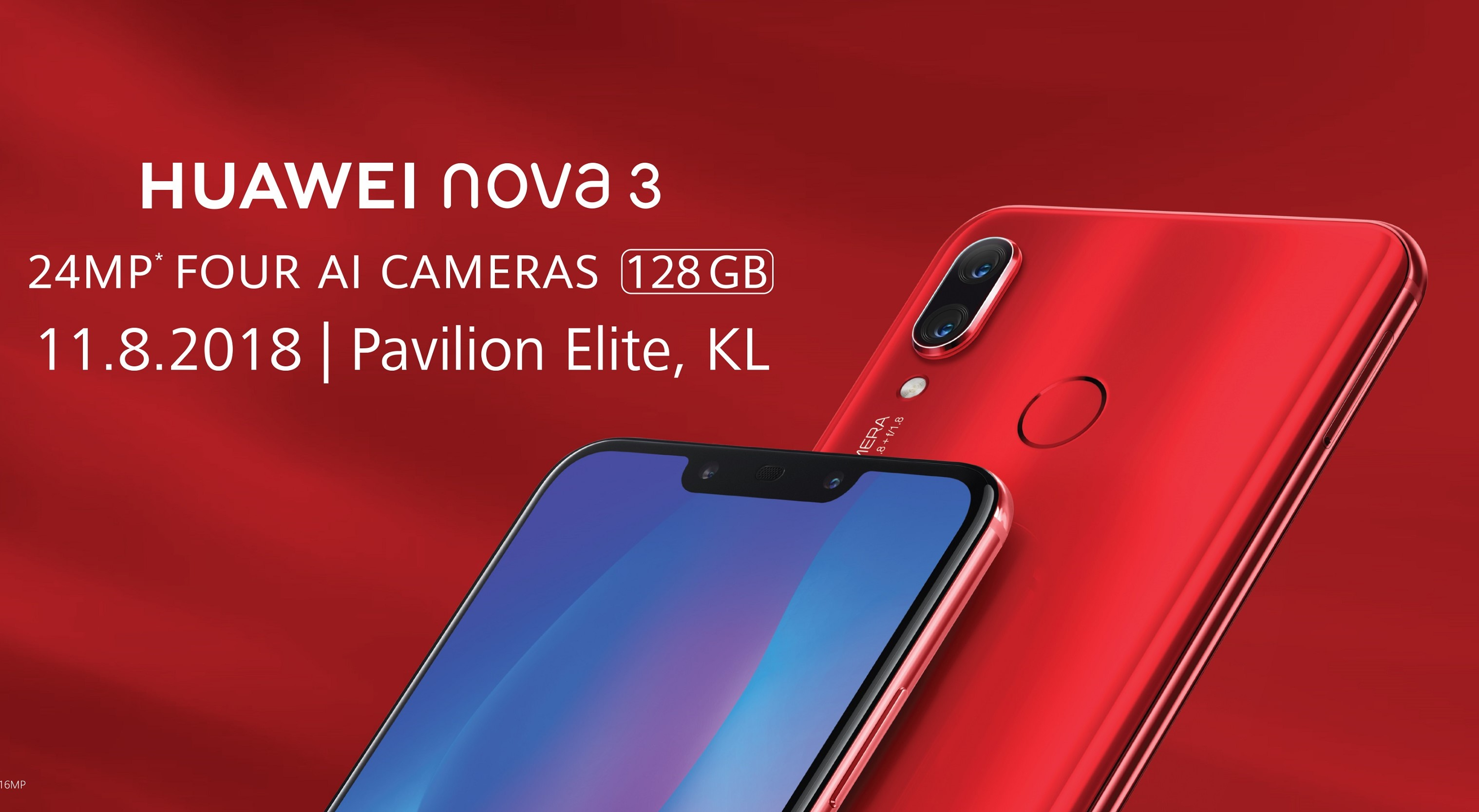 Huawei Nova 3 To Be Available In Malaysia This Weekend