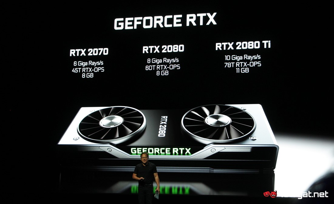 Nvidia unveils GeForce RTX 20 series GPUs with ray-tracing power