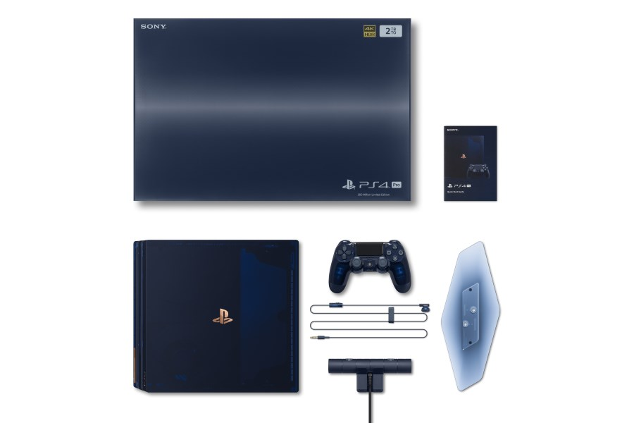 Sony Introduces Translucent '500 Million Limited Edition' PlayStation 4 Pro