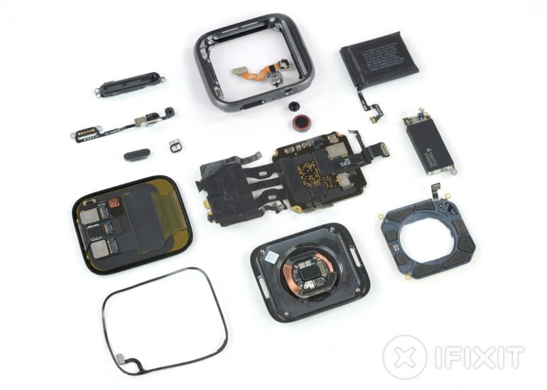Apple Watch Series 4 Teardown Reveals Larger Battery, Jam-Packed Tech Goodies