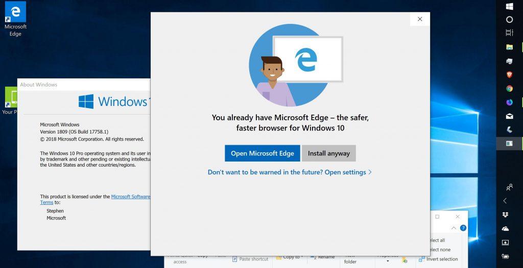 Microsoft Edge to Run On Google Chrome's Rendering Engine