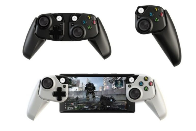 Here are Microsoft's concepts for a smartphone controller