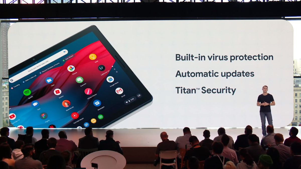 The Google Pixel Slate Is A Detachable Chrome OS Tablet That Starts