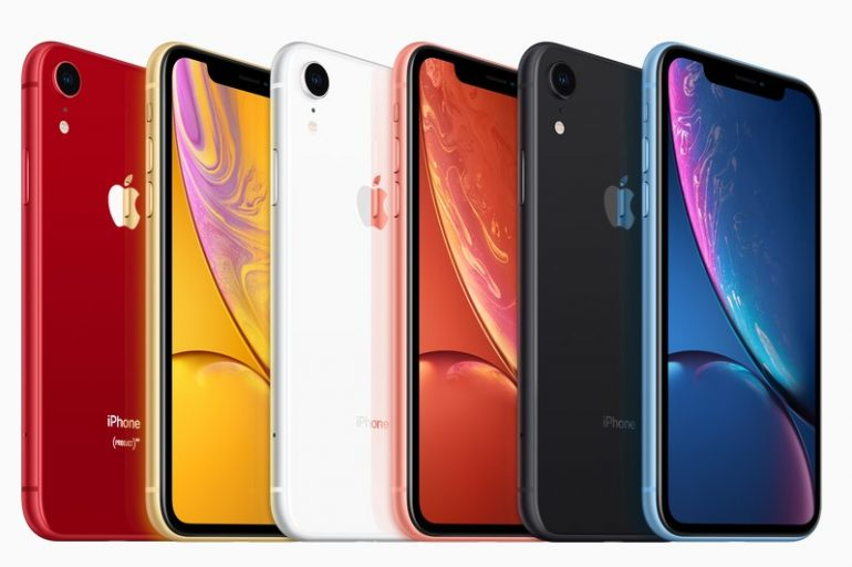 Apple's iPhone XR goes up for pre-order tomorrow starting at $749