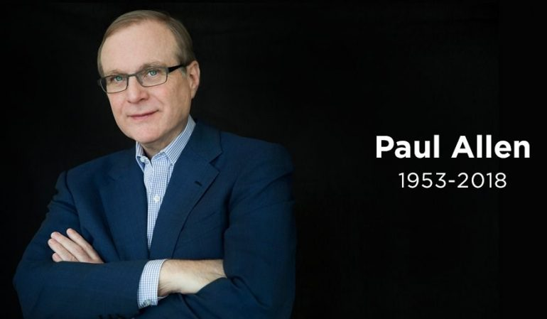 Microsoft co-founder Paul Allen dies at the age of 65