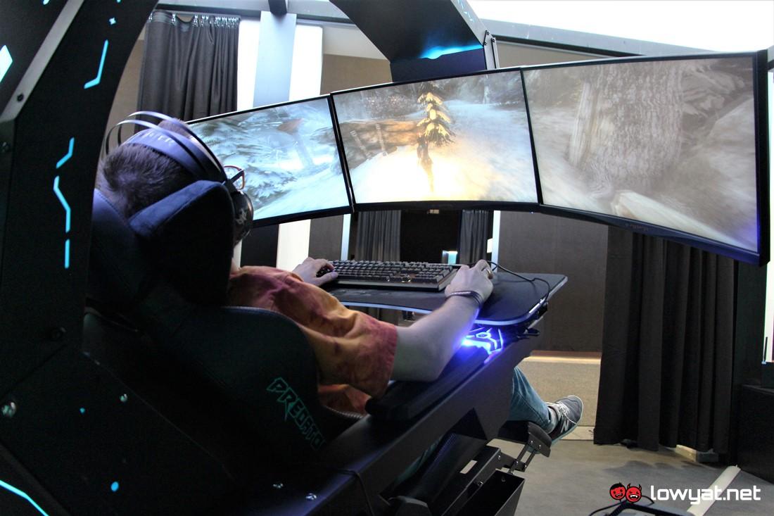 Lytv First Impression Of Acer Predator Thronos Gaming