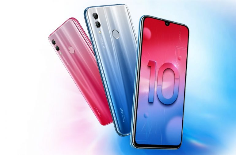 The Honor 10 Lite is a smaller Honor 8X