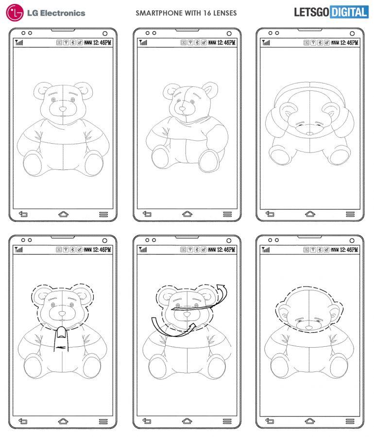 LG Patent Hints at a Smartphone With 16 Rear Camera Sensors